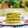 Cách làm bánh pancake trà xanh thanh mát